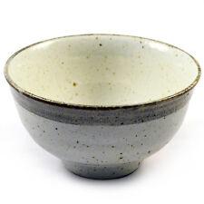 Japanische Nudel & Ramen Suppe & Sushi-Schale - Beige Glasur Keramik