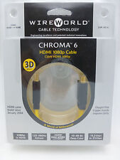 WireWorld Chroma 6 HDMI 1 meter Retail packaging Wire World