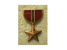 Military Medal Hat Pin - Bronze Star Medal