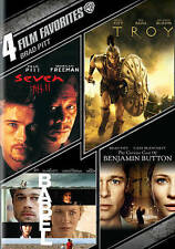 BRAD PITT: 4 FILM FAVORITES (NEW DVD)