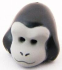 LEGO - Minifig, Headgear Gorilla Mask with Light Bluish Gray Face - Black