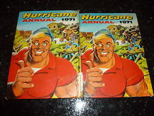 HURRICANE Comic Annual - Year 1971 - UK Annual ( Price Tab Intact )