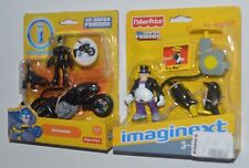 CATWOMAN and Catcycle & PENGUIN Imaginext DC Super Friends MIP Rare!