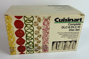 Cuisinart DLC-870 Complete Disc Set 8 Blades for DLC-8 DLC-10 Food Processor