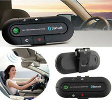Wireless Multipoint Bluetooth Hands Free Car Speakerphone Speaker Visor Clip CY