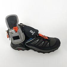 Salomon Hiking Shoe and Spat by Nicole McLaughlin; Size US Men's 12