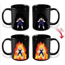 Dragon Ball Z Goku Vegeta Taza Heat Reactive Color Change Ceramic Cup Coffee Mug