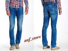 NWT PRPS Goods JAPAN Rocket Demon Slim Men Jeans 36 x 34 Faded Distress $395