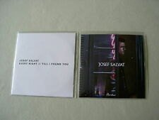 JOSEF SALVAT job lot of 2 promo CD singles Every Night/Till I Found You Hustler