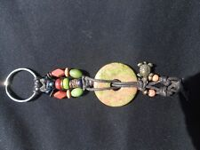 KEY CHAIN STONE MEDALLION (NEW) by Turtlechains(TM)