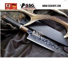 "CUSTOM Art Damascus Forged High Performance Professional Balance Chef Knife 12"""