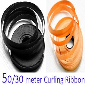 5 mm Curling Ribbon 50/100m Halloween Decor Orange/Black Balloon/Gift Wrap