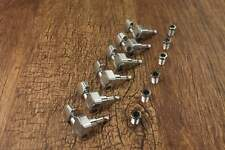 Chrome 6-in-line Tuners Tuning Pegs Machine for Fender American Strat Tele MINT