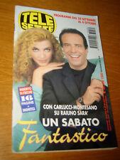 TELESETTE 1997/39=MILLY CARLUCCI ERNICO MONTESANO=PIERO CHIAMBRETTI=GUIDA TV PRG