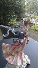"""Maku""by Caroline Young Porcelain Figurine Franklin Mint ~ Rare ~"
