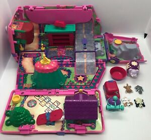 Galoob Pound Puppies Playground Van Circus Playset Vintage 1995 w/ Puppies Pcs