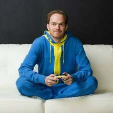 Official Bethesda Branded Vault Suit Fleece Jumpsuit - 2XL - SOLD OUT IN 2015!