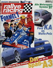 Rallye Racing 3/97 1997 Audi A3 Oettinger Ford KA Wolf Lotus Esprit GT3 Peugeot