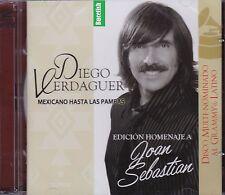 Diego Verdaguer Mexicano Hasta Las Pampas Edicion Homenaje Joan Sebastian CDDVD