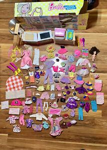 Vintage Barbie Lot 60s -90s Clothes Shoes Retro + Barbie Ultimate Kitchen 💥