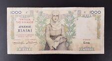 B-D-M Grecia Greece 1000 drachmai 1935 Pick 106 BC- G