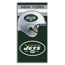 "McArthur NFL New York Jets Fiber Reactive Beach Towel 30"" x 60"" new"