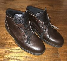 Red Wing Mens Shoe Sz 11.5 EE Brown Leather Comfort Casuals Soft Toe Suede Lined