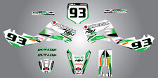 Full  Custom Graphic  Kit - STORM - KX  65 -  2001 - 2015 stickers / decals