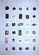 LOT of 30 pin badges - Ex Yugoslavia, Tito, Partizans etc. #20