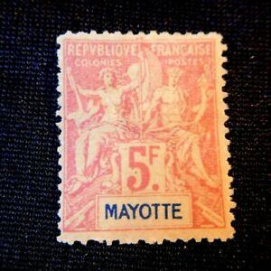 MAYOTTE Stamp Scott 20 Mint Hinged CV135