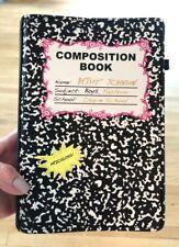 BETSEY JOHNSON COMPOSITION BOOK SHOULDER BAG HANDBAG