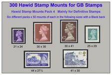 More details for hawid mounts x 6 different sizes x 50 of each size =300 mounts  save 40%  £10.95