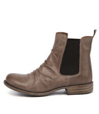 New Eos Willo W Taupe Lea Taupe Womens Shoes Casual Boots Ankle