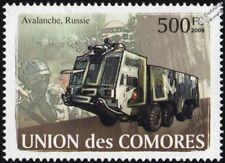 Avalanche de canons à eau camion anti-émeute véhicule (Russie Police spéciale) Timbre