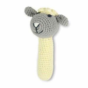 Weegoamigo Crochet Rattle Little Lamb
