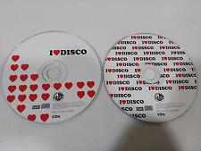 I LOVE DISCO CD 2 + 3 - BLANCO Y NEGRO 1998 DANCE DISCO MIX - 2 X CD SIN CAJA