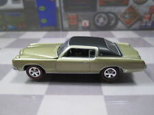 1971   '71   PONTIAC GRAND PRIX with   Red Line Tires  1/64 NEAR MINT LOOSE