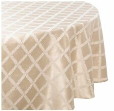 Merveilleux Lenox Laurel Leaf 70 By 104 Inch Oval Tablecloth Ivory