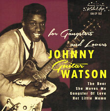 JOHNNY GUITAR WATSON - THE BEAR / SHE MOVES ME / HOT LITTLE MAMA (4 track R&B EP