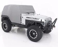 Smittybilt Custom Fit Gray Cab Cover w/ Door Flaps 1992-2006 Jeep Wrangler YJ TJ