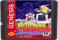 Battle Mania 2: Daiginjou (1993) 16 Bit For Sega Genesis / Mega Drive System