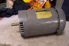 WESTINGHOUSE 1-1/2 HP ELECTRIC AC MOTOR 230/460 VAC TH56C FRAME 1725 RPM 3 PHASE