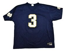 Adidas NCAA Notre Dame Fighting Irish Mens #3 Football Jersey New 3XL