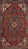 Vintage Floral Tebriz Hand-knotted Traditional Area Rug Wool Oriental Carpet 3x5