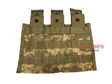 USGI ACU TRIPLE MAG POUCH MOLLE II M4 AR-15 M16 30RD MAGAZINE POCKET NSN NEW