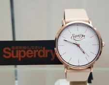 NEW Ladies Woman SUPERDRY Watch Oxford Pastel Leather strap RRP £79 Genuine (SD7
