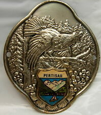 Pertisau used badge stocknagel hiking medallion mount G5298