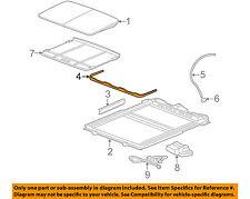 general motors sunroofs, hard tops \u0026 soft tops for 2008 cadillac stscadillac gm oem 05 11 sts sunroof wind air deflector 15893854
