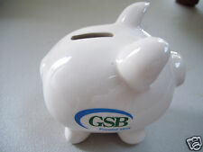 Gsb Pig Coin Savings Bank Founded 1875 Good Condition