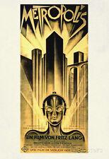 Metropolis Movie Fritz Lang Poster Print Poster Print, 13x19